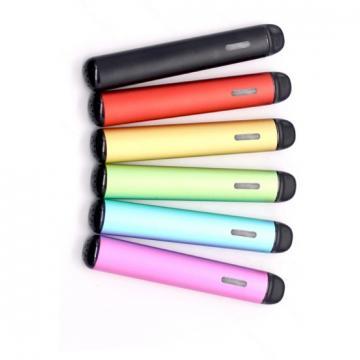 2019 New Trending Products 0.5ml Bigger Capacity Tank Oval Shape Colorful 210mAh Disposable Vape Pen